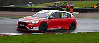 23rd August 2020; Oulton Park Circuit, Little Budworth, Cheshire, England; Kwik Fit British Touring Car Championship, Oulton Park, Race Day;  Rory Butcher Motorbase Performance driving a Ford Focus ST race one second
