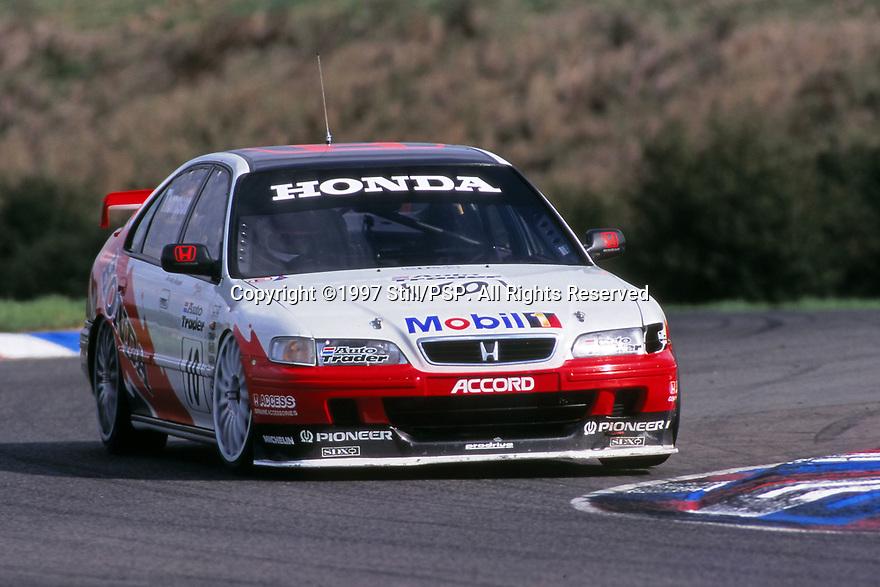 1997 British Touring Car Championship. #10 James Thompson (GBR). Team Honda Sport. Honda Accord.