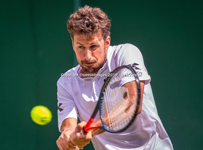London, England, 1  st July, 2019, Tennis,  Wimbledon, Robin Haase  (NED)<br /> Photo: Henk Koster/tennisimages.com