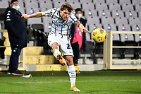 Nicolo Barella of FC Internazionale in action during the Italy Cup round of 16 football match between ACF Fiorentina and FC Internazionale at Artemio Franchi stadium in Firenze (Italy), January 13th, 2021. Photo Andrea Staccioli / Insidefoto