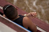 Travessia de Camará em Salvaterra à Belém. O navio Marcos Matheus atravessa a baia do Marajó chegando em Belém.<br /> Pará, Brasil.<br /> Foto Paulo Santos<br /> 23/04/2014
