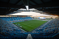 SAN JOSE, CA - OCTOBER 03: Earthquakes Stadium during a game between Los Angeles Galaxy and San Jose Earthquakes at Earthquakes Stadium on October 03, 2020 in San Jose, California.