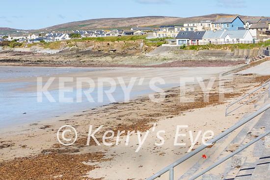 A very quiet Ballyheigue beach on Sunday.