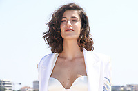 Berrak Tuzunatac lors du photocall de PHI pendant le MIPTV a Cannes, le lundi 3 avril 2017.