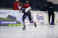 SCHAATSEN: HEERENVEEN: 10-10-2020, KNSB Trainingswedstrijd, ©foto Martin de Jong