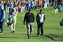 Paul Casey (ENG) and Phil Mickelson (USA) during the final round of the AT&T Pro-Am, Pebble Beach Golf Links, Monterey, USA. 11/02/2019<br /> Picture: Golffile | Phil Inglis<br /> <br /> <br /> All photo usage must carry mandatory copyright credit (© Golffile | Phil Inglis)