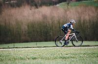 Lotta Henttala (FIN/Trek Segafredo)<br /> <br /> 12th Women's Omloop Het Nieuwsblad 2020 (BEL)<br /> Women's Elite Race <br /> Gent – Ninove: 123km<br /> <br /> ©kramon