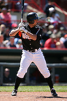 May 31, 2009:  Joe Tucker of the Erie Seawolves at bat during a game at Jerry Uht Park in Erie, NY.  The Seawolves are the Eastern League Double-A affiliate of the Detroit Tigers.  Photo by:  Mike Janes/Four Seam Images