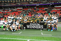 Barbarians and South Africa draw the Killik Cup match 31-31 at Wembley Stadium on Saturday 5th November 2016 (Photo by Rob Munro)