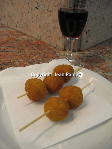 Olive Ascolana is a popular appetizer in Italy