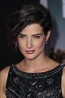 """HOLLYWOOD, CA - NOVEMBER 03: Cobie Smulders at the Los Angeles Premiere Of DreamWorks Pictures' """"Delivery Man"""" held at the El Capitan Theatre on November 3, 2013 in Hollywood, California. (Photo by Xavier Collin/Celebrity Monitor)"""