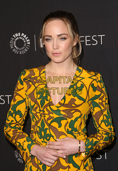HOLLYWOOD, CA - March 18: Caity Lotz, At The Paley Center For Media's 34th Annual PaleyFest Los Angeles - The CW At Dolby Theatre In California on March 18, 2017. <br /> CAP/MPI/FS<br /> ©FS/MPI/Capital Pictures