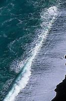 Europe/France/Corse/2B/Haute-Corse/Cap Corse/Nonza: La plage vue depuis la tour de Nonza
