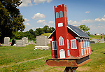 Dreibbach United Church of Christ mailbox, Union County, PA.