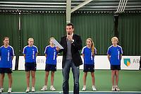 20-01-13, Tennis, Rotterdam, Wildcard for qualification ABNAMROWTT, Richard Krajicek rijkt de wildcard uit