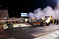 Aug 30, 2019; Clermont, IN, USA; NHRA top fuel driver Billy Torrence during qualifying for the US Nationals at Lucas Oil Raceway. Mandatory Credit: Mark J. Rebilas-USA TODAY Sports