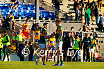 Paul Geaney, Kerry, Tommy Walsh, Kerry, after the Munster Football Championship game between Kerry and Clare at Fitzgerald Stadium, Killarney on Saturday.