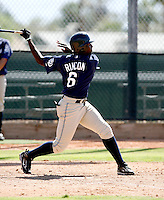 Edinson Rincon / San Diego Padres 2008 Instructional League..Photo by:  Bill Mitchell/Four Seam Images