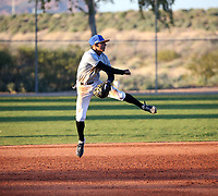 Steven Ondina takes part in the 2020 Under Armour Pre-Season All-America Tournament at the Chicago Cubs training complex and Red Mountain baseball complex on January 18-19, 2020 in Mesa, Arizona (Bill Mitchell)