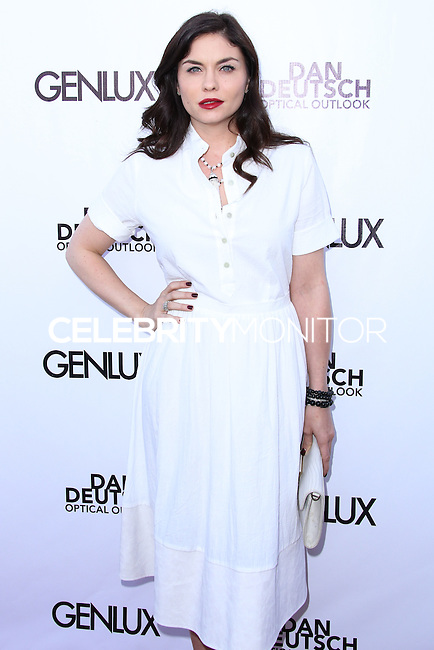 BEVERLY HILLS, CA, USA - JUNE 28: Actress Jodi Lyn O'Keefe arrives at the Genlux Magazine Summer 2014 Issue Release Party held at the Luxe Hotel on June 28, 2014 in Beverly Hills, California, United States. (Photo by Xavier Collin/Celebrity Monitor)