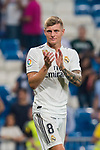 Toni Kroos of Real Madrid reacts after the La Liga 2018-19 match between Real Madrid and CD Leganes at Estadio Santiago Bernabeu on September 01 2018 in Madrid, Spain. Photo by Diego Souto / Power Sport Images