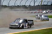 #4: Raphael Lessard, Kyle Busch Motorsports, Toyota Tundra Mobil 1, #51: Alex Tagliani, Kyle Busch Motorsports, Toyota Tundra RONA/VIAGRA