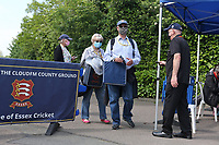 Spectators arrive at the ground ahead of Essex CCC vs Nottinghamshire CCC, LV Insurance County Championship Group 1 Cricket at The Cloudfm County Ground on 3rd June 2021