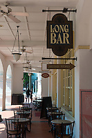 Raffles Hotel Long Bar Sign, Singapore