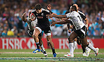 Fiji played and beat New Zealand 35 - 28 in the Cup Final  on Day 3 of the 2012 Cathay Pacific / HSBC Hong Kong Sevens at the Hong Kong Stadium in Hong Kong, China on 25th March 2012. Photo © Manuel Queimadelos  / The Power of Sport Images