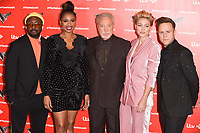 """Will.i.am, Jennifer Hudson, Sir Tom Jones, Emma Willis and Olly Murs<br /> at the launch photocall for the 2019 series of """"The Voice"""" London<br /> <br /> ©Ash Knotek  D3468  03/01/2019"""
