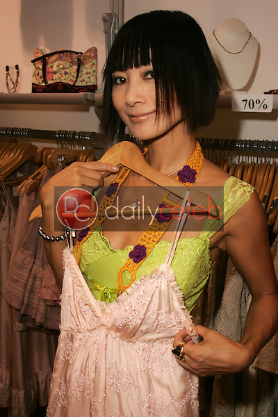 Bai Ling with designs by Gold Hawk<br />at TAG RAG Boutique, Beverly Hills, CA. 08-30-06<br />Dave Edwards/DailyCeleb.com 818-249-4998<br />Exclusive
