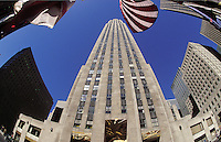 Rockefeller Plaza, Manhattan, New York. U.S.A.