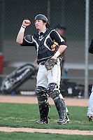 January 17, 2010:  Tyler Lundgren (Vancouver, WA) of the Baseball Factory Northwest Team during the 2010 Under Armour Pre-Season All-America Tournament at Kino Sports Complex in Tucson, AZ.  Photo By Mike Janes/Four Seam Images