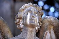 Angel Statue Particular Cimitero Verano, Rome, Italy.02 April 2010