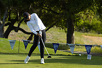 STANFORD, CA - APRIL 23: Alyaa Abdulghany at Stanford Golf Course on April 23, 2021 in Stanford, California.
