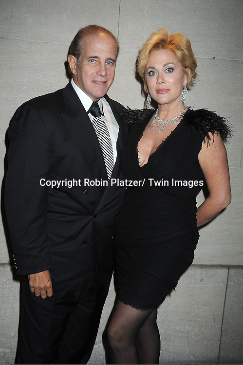 Tonja Walker and husband Ed Davidson attends the One Life to Live Wrap Party on November 18, 2011 at Capitale in New York City.