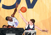 Hunter Mickelson at the NBPA Top100 camp June 17, 2010 at the John Paul Jones Arena in Charlottesville, VA. Visit www.nbpatop100.blogspot.com for more photos. (Photo © Andrew Shurtleff)