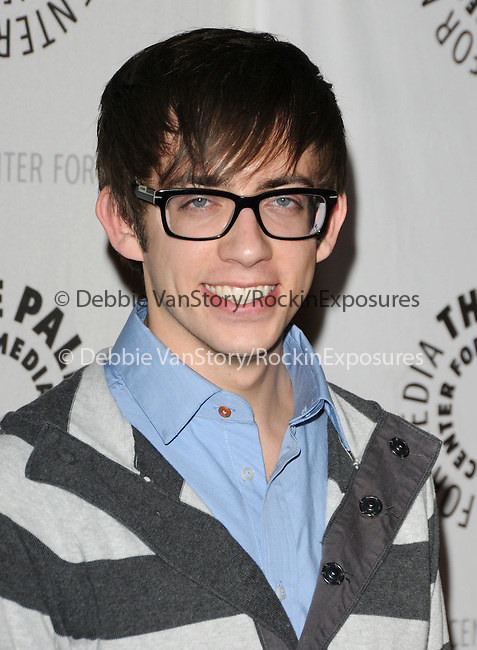 Kevin McHale at the Twenty-Seventh Annual PaleyFest: William S. Paley Television Festival honoring The Cast of Glee held at The  Saban Theatre in Beverly Hills, California on March 13,2010                                                                   Copyright 2010  DVS / RockinExposures