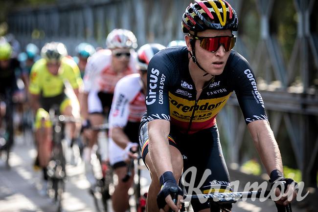 Belgian National Champion, Tim Merlier (BEL/Corendon Circus)<br /> <br /> 23th Memorial Rik Van Steenbergen 2019<br /> One Day Race: Beerse > Arendonk 208km (UCI 1.1)<br /> ©kramon