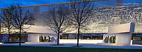 Eisenhower Memorial, Washington DC, USA.