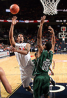 CHARLOTTESVILLE, VA- NOVEMBER 26:  Mike Scott #23 of the Virginia Cavaliers shoots in front of Greg Mays #15 of the Green Bay Phoenix during the game on November 26, 2011 at the John Paul Jones Arena in Charlottesville, Virginia. Virginia defeated Green Bay 68-42. (Photo by Andrew Shurtleff/Getty Images) *** Local Caption *** Mike Scott;Greg Mays