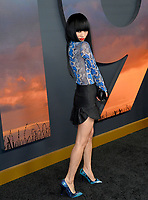 "LOS ANGELES, USA. December 19, 2019: Bai Ling at the premiere of ""1917"" at the TCL Chinese Theatre.<br /> Picture: Paul Smith/Featureflash"