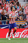 Joao Felix of Atletico de Madrid celebrates goal during La Liga match between Atletico de Madrid and SD Eibar at Wanda Metropolitano Stadium in Madrid, Spain.September 01, 2019. (ALTERPHOTOS/A. Perez Meca)