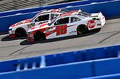 Ryan Preece, Joe Gibbs Racing, Toyota Camry Rheem and John Hunter Nemechek, Chip Ganassi Racing, Chevrolet Camaro Fire Alarm Services, Inc.