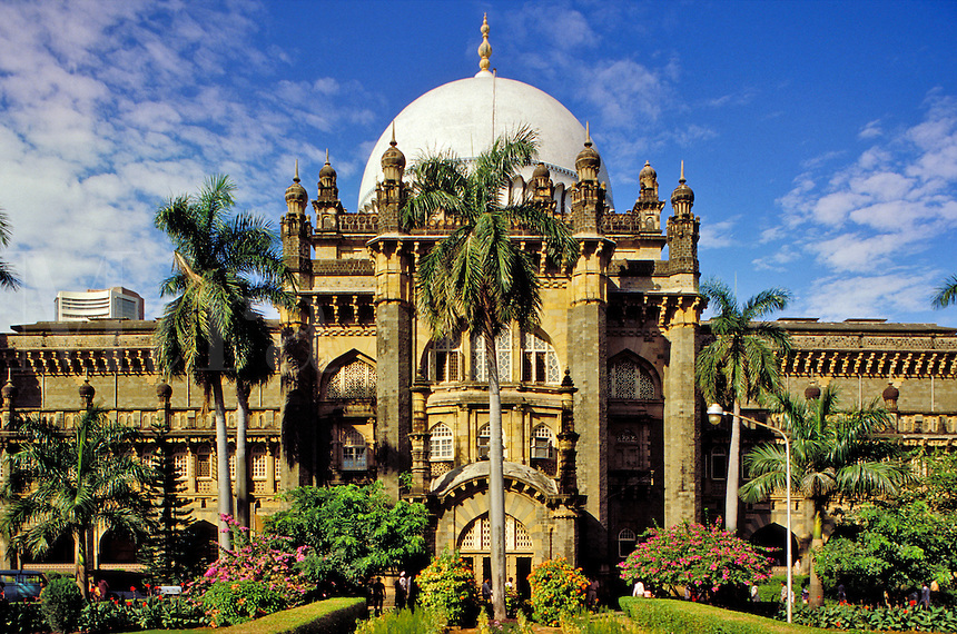 Mumbai (Bombay) India.  Prince of Wales Museum, the city's principal museum.