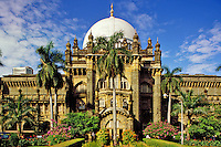 Mumbai (Bombay) India.  Prince of Wales Museum, the city's principal museum.
