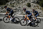 Andrey Amador (COR), Michal Kwiatkowski (POL) and Luke Rowe (WAL) in the peloton during Stage 6 of Tour de France 2020, running 191km from Le Teil to Mont Aigoual, France. 3rd September 2020.<br /> Picture: ASO/Pauline Ballet   Cyclefile<br /> All photos usage must carry mandatory copyright credit (© Cyclefile   ASO/Pauline Ballet)