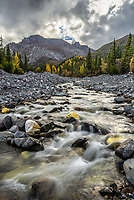 Skookum Creek, Nabesna Road, Alaska.