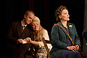"""Buxton International Festival presents """"Albert Herring"""", by Benjamin Britten, at Buxton Opera House, Buxton, Derbyshire.  Picture shows: Morgan Pearse (Sid), Kathryn Rudge (Nancy), Lucy Schaufer (Florence Pike)"""