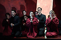 "Buxton International Festival presents ""Macbeth"", by Verdi, at Buxton Opera House, Buxton, Derbyshire.  Picture shows: The chorus"